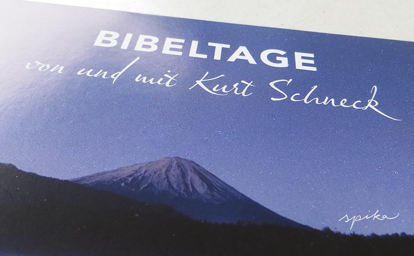 Flyer für Bibeltage