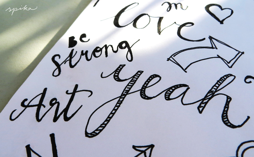 Doodle und Handlettering