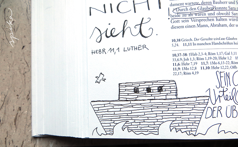Bible Art Journaling, Teil II