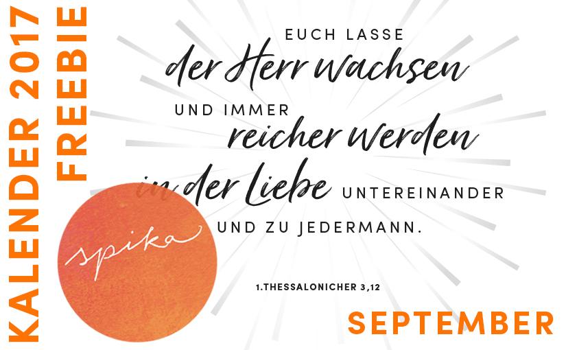 Freebie! Kalender 2017_September