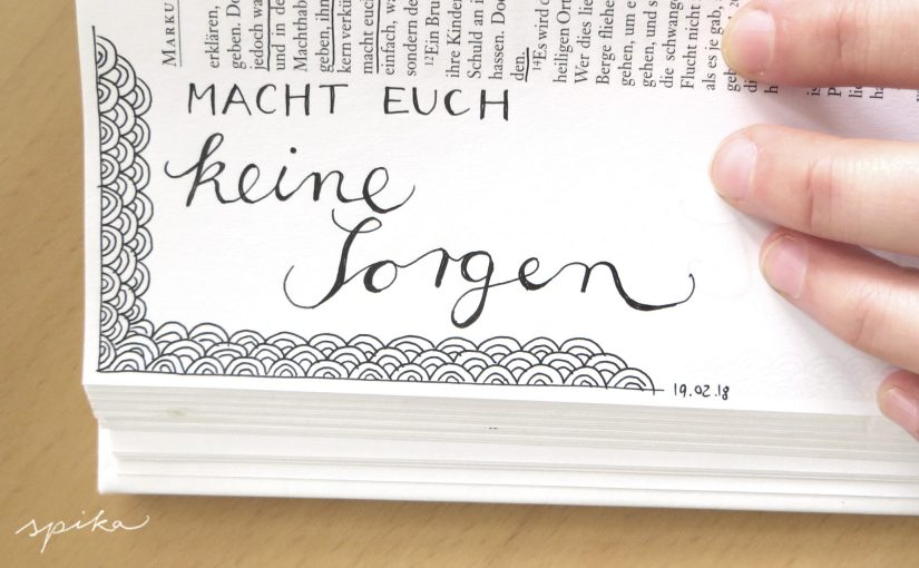 Bible Art Handlettering